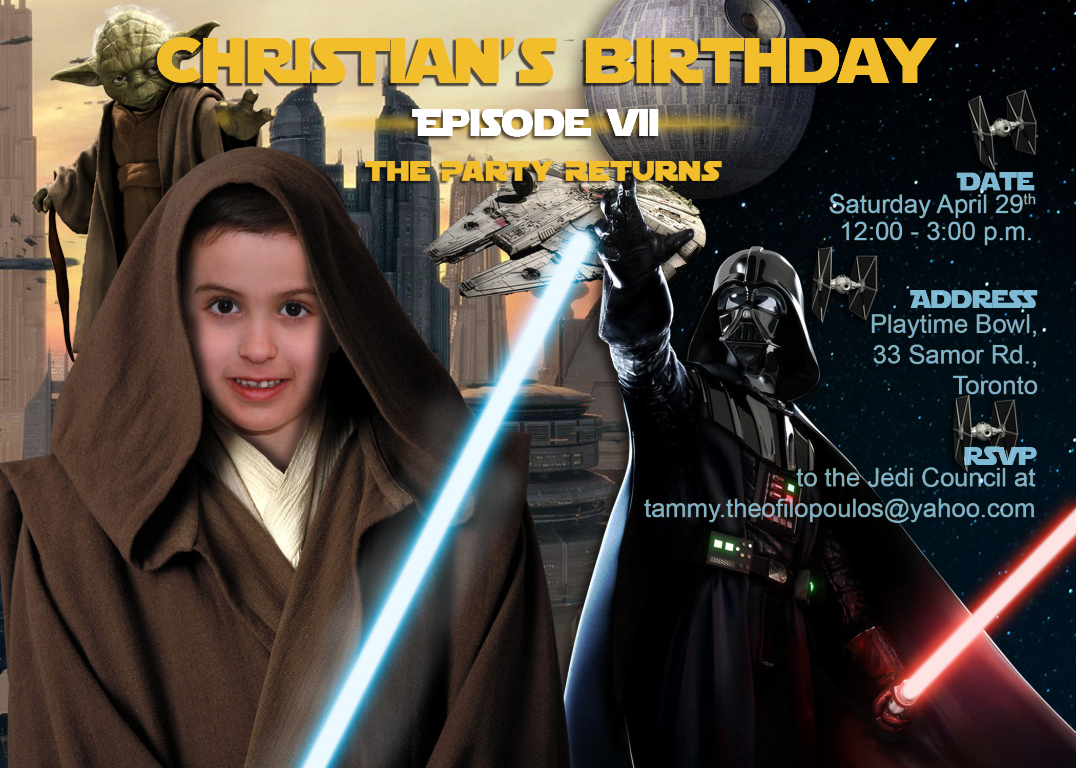 Ultimate Star Wars Birthday Party – Life's My Party